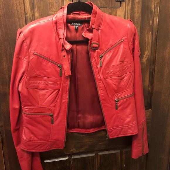 bebe Jackets & Blazers - Bebe leather jacket